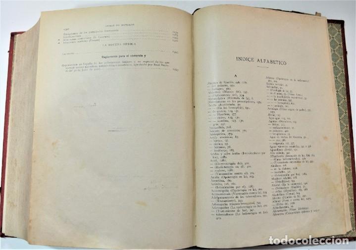 Libros antiguos: TERAPÉUTICA CLÍNICA - DR. ALFREDO MARTINET - CASA EDITORIAL BAILLY-BAILLIERE, MADRID 1925 - Foto 6 - 214992161