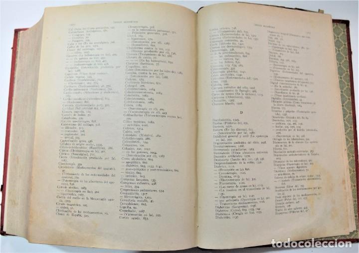 Libros antiguos: TERAPÉUTICA CLÍNICA - DR. ALFREDO MARTINET - CASA EDITORIAL BAILLY-BAILLIERE, MADRID 1925 - Foto 8 - 214992161