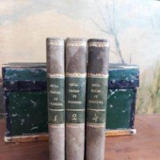 Libri antichi: TRATADO COMPLETO DE TOXICOLOGIA - MATEO ORFILA - MADRID - 1846 - 3 TOMOS - MEDICINA LEGAL Y FORENSE. Lote 216015428
