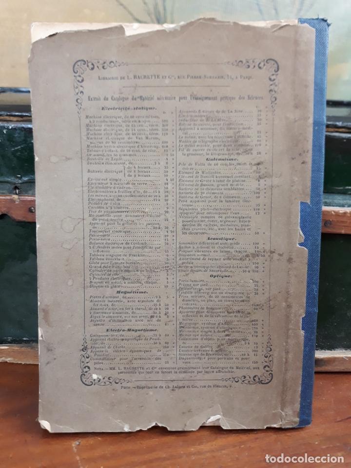 Libros antiguos: ELEMENTS DE PHYSIQUE EXPERIMENTALE ET DE METEOROLOGIE - Foto 3 - 216424178