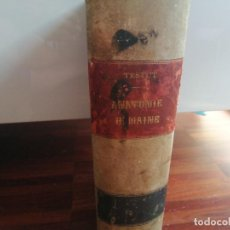 Libros antiguos: MEDICINA. LIBRO DE ANATOMÍA HUMANA. TRAITÉ D'ANATOMIE HUMAINE. VOL 2. 1897. AUTOR: L. TESTUT.. Lote 218399151