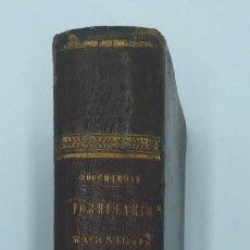 Libros antiguos: BOUCHARDAT. NOVISIMO FORMULARIO MAGISTRAL. 1863. Lote 218507111