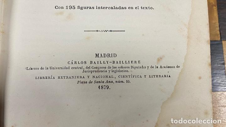 Libros antiguos: Tratado Clinico de las Enfermedades de las Mujeres Roberto Barnes 1.879 - Foto 10 - 220985586