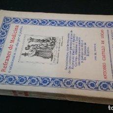 Libros antiguos: 1936 - CASTILLO DE LUCAS - REFRANES DE MEDICINA O RELACIONADOS CON ELLA POR EL PUEBLO - DEDICADO. Lote 221543381