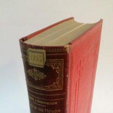 Libros antiguos: 1910 - BRUGSCH / SCHITTENHELM - TRATADO DE LOS MÉTODOS DE INVESTIGACIÓN CLÍNICA. Lote 221544431