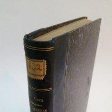 Libros antiguos: 1915 - PILAR DE LORA - CONTESTACIONES AL PROGRAMA OFICIAL PARA EJERCER DE ENFERMERA - DEDICADO. Lote 221544925
