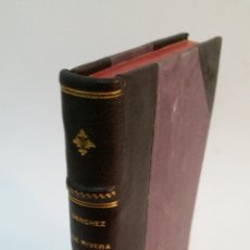 Libros antiguos: 1914 - SÁNCHEZ DE RIVERA Y MOSET - CUÁNDO DEBE OPERARSE EN APENDICITIS - DEDICADO. Lote 221545122