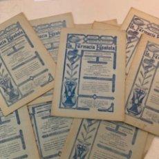 Libros antiguos: 13 NÚMEROS - LA FARMACIA ESPAÑOLA - REVISTA FARMACÉUTICA QUINCENAL - AÑOS 1930 Y 1931. Lote 221641770