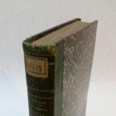Libros antiguos: 1860 - PRÓSPERO YVAREN - DE LAS METAMORFOSIS DE LA SÍFILIS. Lote 222052491