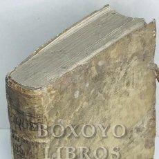 Libros antiguos: PIQUER, ANDRÉS. ANDREAE PIQUERII ARCHIATRI INSTITUTIONES MEDICAE, AD USUM SCHOLAE VALENTINAE.. Lote 222069955
