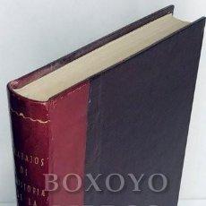 Libros antiguos: AAVV. TRABAJOS DE LA CÁTEDRA DE HISTORIA CRÍTICA DE LA MEDICINA.TOMO VI (CURSO DE 1934-1935). Lote 222069988