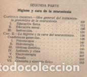 Libros antiguos: libro higiene del neurasténico de G.S. VINAJ TRAD. JUAN ALZINA I MELIS DTOR D MANICOMIO D SALT 1913 - Foto 3 - 162484798
