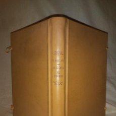 Libros antiguos: LIBRO DE LA ANATOMIA DEL HOMBRE - AÑO 1551 - BERNARDINO MONSERRATE - GRABADOS.. Lote 222465911