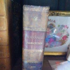 Libros antiguos: ANTIGUO LIBRO SEMANARIO FARMACÉUTICO 1890. Lote 222641137