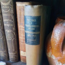 Libros antiguos: LIBRO CLÍNICA Y TRATAMIENTO DE LAS ENFERMEDADES DEL PIE R ARANDES. Lote 222641787