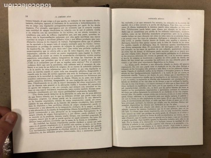 Libros antiguos: LECCIONES DE PATOLOGÍA MÉDICA. Dr. C. JIMÉNEZ DIAZ. 2 TOMOS. EDITORIAL CIENTÍFICO MÉDICA 1936. - Foto 4 - 224159428