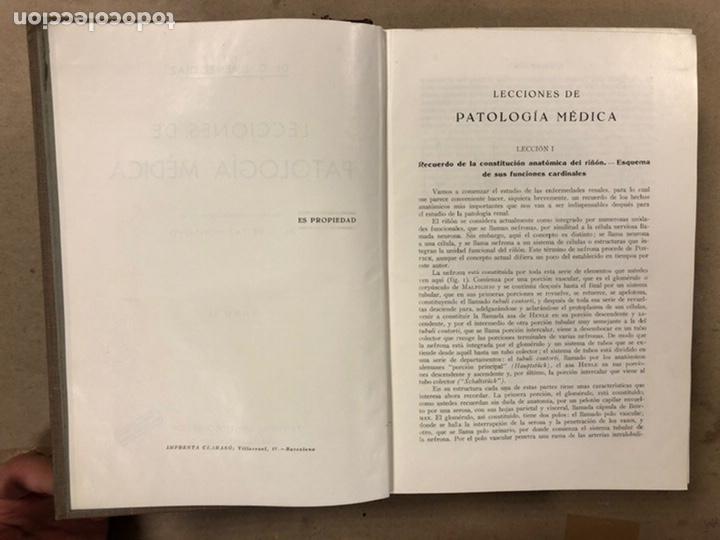 Libros antiguos: LECCIONES DE PATOLOGÍA MÉDICA. Dr. C. JIMÉNEZ DIAZ. 2 TOMOS. EDITORIAL CIENTÍFICO MÉDICA 1936. - Foto 11 - 224159428