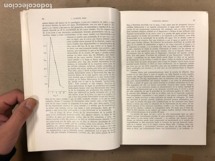 Libros antiguos: LECCIONES DE PATOLOGÍA MÉDICA. Dr. C. JIMÉNEZ DIAZ. 2 TOMOS. EDITORIAL CIENTÍFICO MÉDICA 1936. - Foto 12 - 224159428