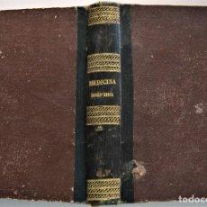 Libros antiguos: LECCIONES DE MEDICINA HOMEOPÁTICA - A. GARCÍA LÓPEZ - EDITA CARLOS BAILLY-BAILLIERE - MADRID 1872. Lote 224195503