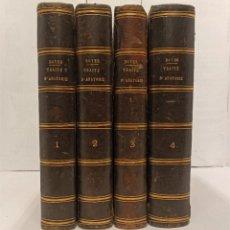 """Libros antiguos: """"TRAITÉ D´ANATOMIE"""" DE M. LE BARON BOYER (1815) (COMPLETO VOL I A IV) IMPR. CHEZ MIGNERET (PARIS). Lote 226439947"""