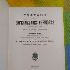 Libros antiguos: 1940. TRATADO DE LAS ENFERMEDADES NERVIOSAS EN TREINTA LECCIONES. ROBERTO BING.. Lote 228505870