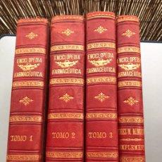 Libros antiguos: 1889.- ENCICLOPEDIA FARMACEUTICA / DICCIONARIO GENERAL DE FARMACIA. MARIANO PEREZ M. MINGUEZ. Lote 230554985