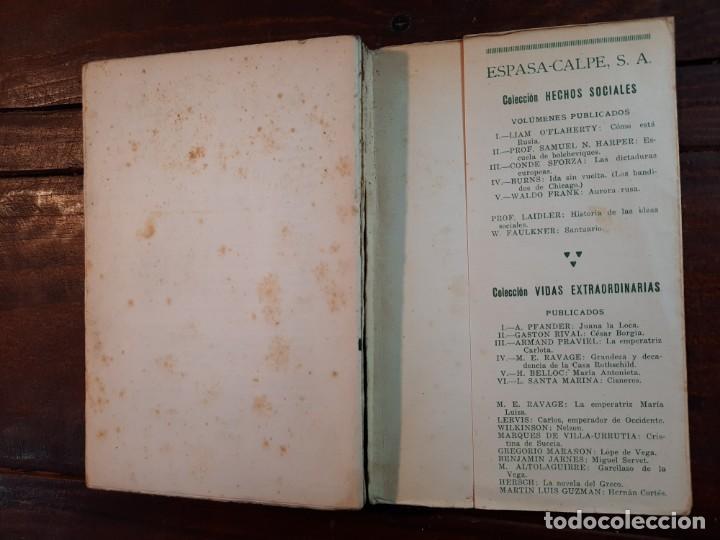 Libros antiguos: AMIEL, UN ESTUDIO SOBRE LA TIMIDEZ - GREGORIO MARAÑON - ESPASA-CALPE, 1932, 1ª EDICION - Foto 8 - 231299595