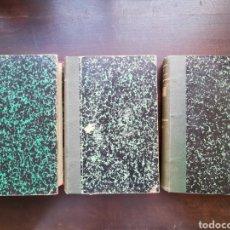 Libros antiguos: NEGOCIACIONES DE LA SOCIEDAD ALEMANA DE UROLOGÍA TOMOS II, III Y IV. Lote 232278720