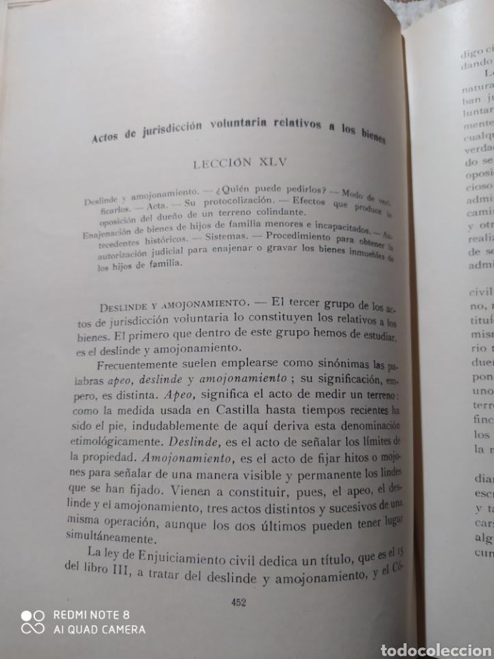 Libros antiguos: LECCIONES DE PRÁCTICA FORENSE. 1921. DR. MAGÍN FÁBREGA. - Foto 6 - 232324075
