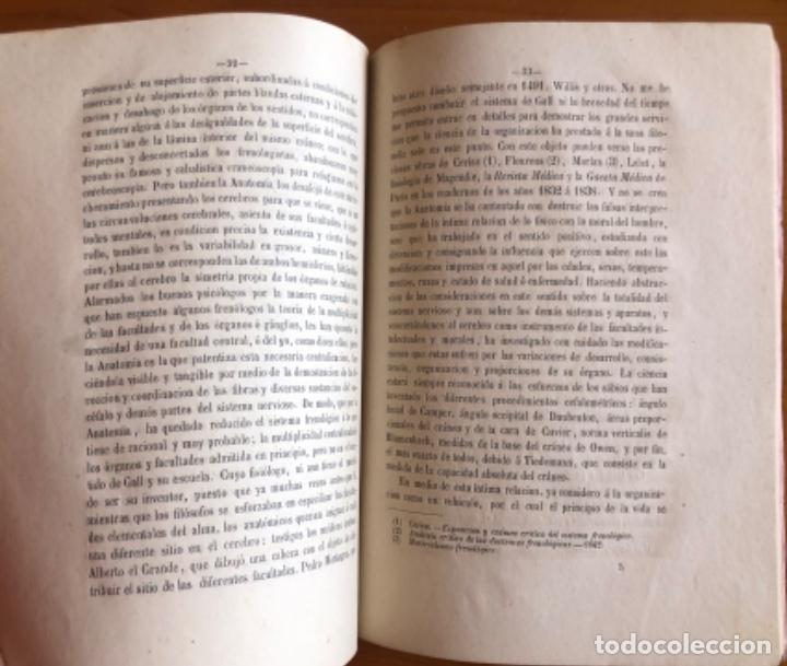 Libros antiguos: VALENCIA- ANATOMIA HUMANA- JOSE Mª GOMEZ Y ALAMA- DISCURSO 1872 - Foto 2 - 233487100
