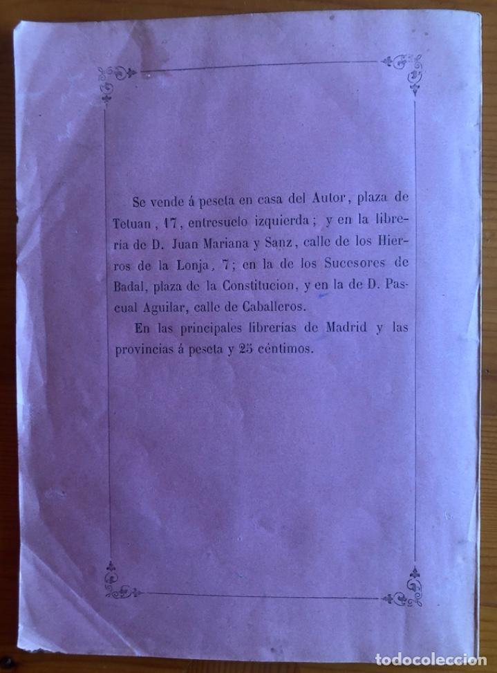 Libros antiguos: VALENCIA- ANATOMIA HUMANA- JOSE Mª GOMEZ Y ALAMA- DISCURSO 1872 - Foto 4 - 233487100