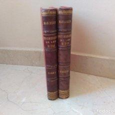 """Libros antiguos: ANTIGUOS TOMOS """"ENFERMEDADES DE LIS NIÑOS"""" DR. ADOLFO BAGINSKY AÑO 1891. Lote 235261830"""