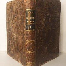 Libros antiguos: ESTUDIOS DE FILOSOFÍA MÉDICA Ó CRÍTICA DE... (ANDREY) ...DE LOS DOGMAS HIPOCRÁTICOS. 1861 SANTIAGO. Lote 235615030