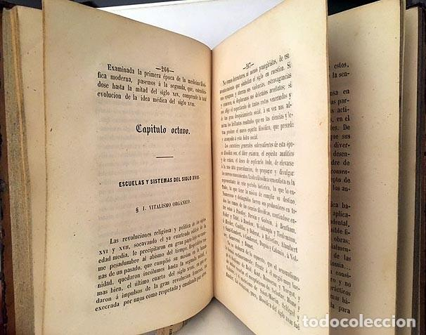 Libros antiguos: Estudios de Filosofía Médica ó Crítica de... (Andrey) ...de los Dogmas Hipocráticos. 1861 Santiago - Foto 3 - 235615030