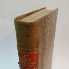 Libros antiguos: 1911 - RAMÓN Y CAJAL - TRABAJOS DEL LABORATORIO DE INVESTIGACIONES BIOLÓGICAS DE MADRID, IX Y X. Lote 235697070