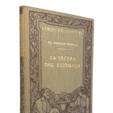 Libros antiguos: 1929 - MEDICINA - LA ULCERA DEL ESTÓMAGO. PATOLOGÍA Y TERAPÉUTICA - 41 FIGURAS EN 13 LÁMINAS. Lote 235886145