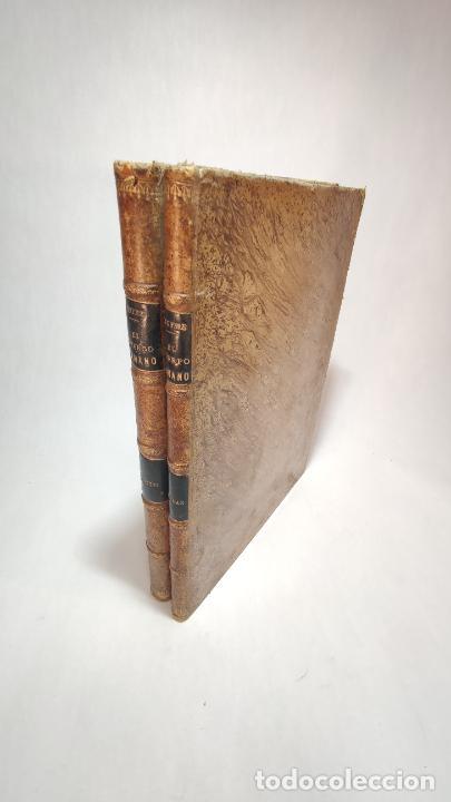 Libros antiguos: El cuerpo humano. estructuras y funciones. Eduardo Cuyer. 2 tomos. Desplegables. Madrid. 1880. - Foto 3 - 236137325
