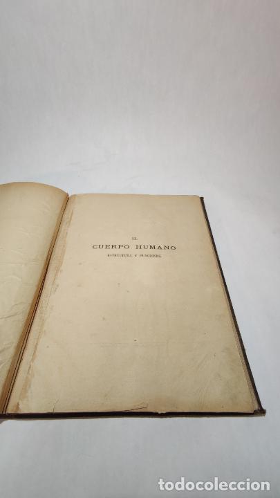 Libros antiguos: El cuerpo humano. estructuras y funciones. Eduardo Cuyer. 2 tomos. Desplegables. Madrid. 1880. - Foto 4 - 236137325