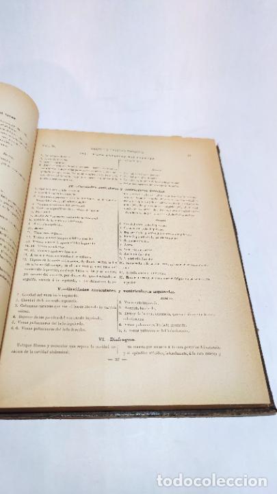 Libros antiguos: El cuerpo humano. estructuras y funciones. Eduardo Cuyer. 2 tomos. Desplegables. Madrid. 1880. - Foto 24 - 236137325