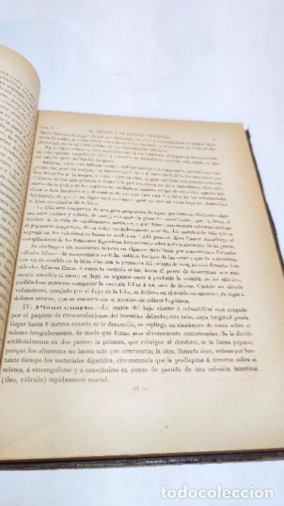 Libros antiguos: El cuerpo humano. estructuras y funciones. Eduardo Cuyer. 2 tomos. Desplegables. Madrid. 1880. - Foto 25 - 236137325