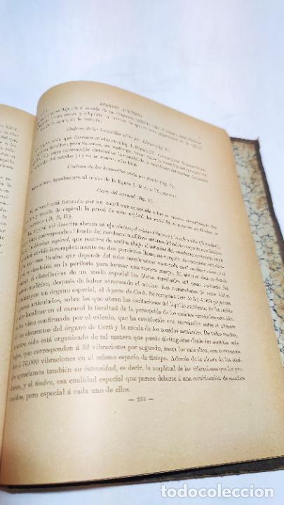 Libros antiguos: El cuerpo humano. estructuras y funciones. Eduardo Cuyer. 2 tomos. Desplegables. Madrid. 1880. - Foto 27 - 236137325