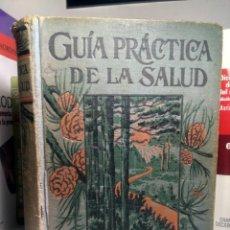 Libros antiguos: GUÍA PRÁCTICA DE LA SALUD - FEDERICO M. ROSSITER - SEXTA EDICIÓN CASTELLANA. Lote 236872565