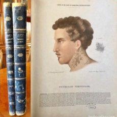 Libros antiguos: DERMATOLOGIA GENERAL - TEXTO Y ATLAS- JOSE EUGENIO OLAVIDE- 1871. Lote 237646630