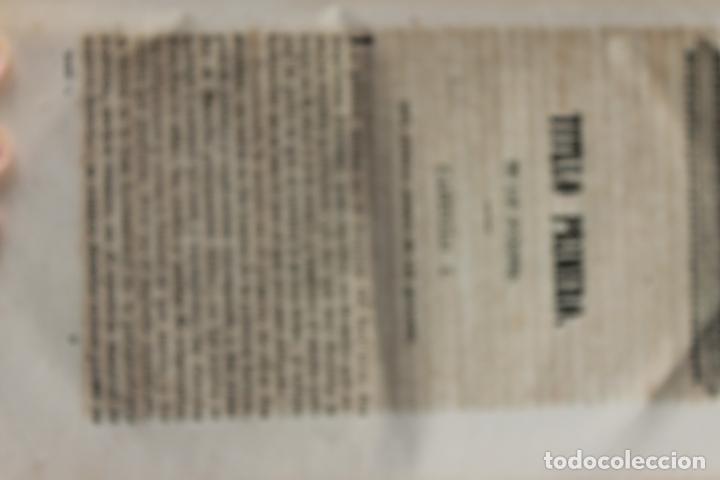 Libros antiguos: ELEMENTOS DE PRACTICA FORENSE POR MANUEL ORTIZ DE ZUÑIGA, 1843 MADRID - Foto 5 - 238548370