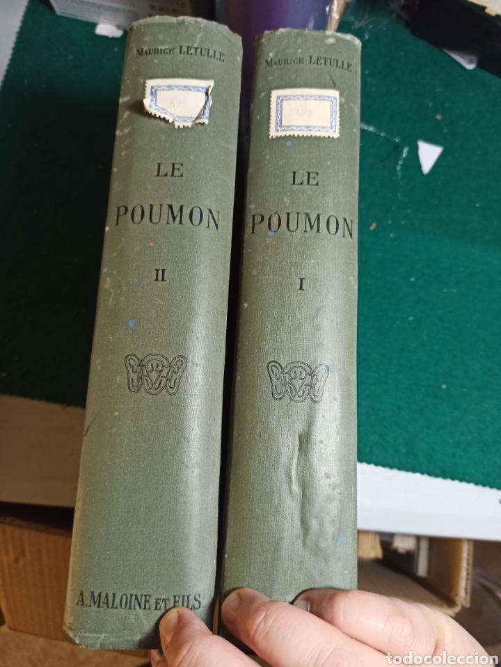 Libros antiguos: Le poumon. Tomo I y II Maurice Letulle. 1924. Con ilustraciones. Ver fotos - Foto 5 - 242071510