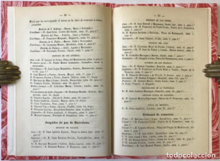 Libros antiguos: GUIA FORENSE PARA EL AÑO DE 1865, POR LOS PORTEROS Y ALGUACILES DE LA AUDIENCIA TERRITORIAL DE... - Foto 3 - 243540150
