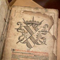 Libros antiguos: ORIGINAL 1551 :ANOTHOMIA DEL HOMBRE DE BERNARDINO. Lote 243891560