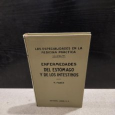 Libros antiguos: MEDICINA...ENFERMEDADES DEL ESTÓMAGO Y DE LOS INTESTINOS...1927.... Lote 244806040