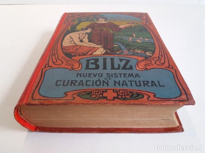 Libros antiguos: ATRACTIVO LIBRO METODO DE MEDICINA NATURAL MÁS DE 120 AÑOS MODERNISTA - Foto 4 - 245311370