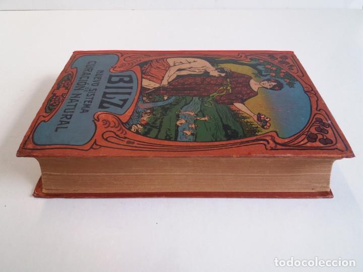 Libros antiguos: ATRACTIVO LIBRO METODO DE MEDICINA NATURAL MÁS DE 120 AÑOS MODERNISTA - Foto 5 - 245311370